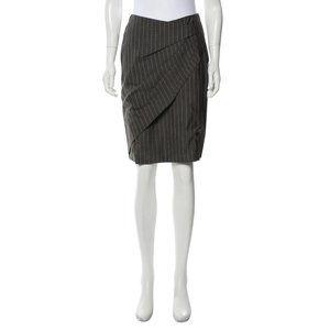 Max Mara Pinstripe Skirt